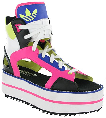 pour femme adidas rose multicolore mode Baskets SOqBR70g