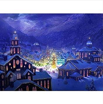 Tolle Weihnachtsbilder.Zhangshifa Diy Diamant Malerei Weihnachtsbilder Durch Rhinestones