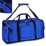 monzana Sporttasche Reisetasche Tasche   70 cm   95 Liter Volumen   Schultergurt abnehmbar und verstellbar   blau…