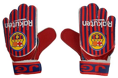 (MarioSports Soccer Goalkeeper Gloves for Kids Barcelona (Home, 6-10 Years Old))