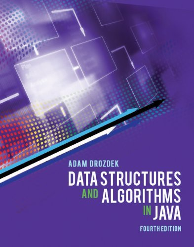Data Structures and Algorithms in Java by Adam Drozdek (2013-08-02)