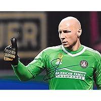 fan products of Signed Brad Guzan Photo - Atlanta United FC 8x10 MLS 2 - Autographed Soccer Photos