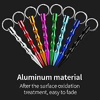 Amazon Com Jhua Self Defense Keychain Solid Aluminum Anti Wolf