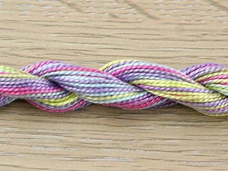 mehrfarbiges Baumwoll-Perlgarn 1 St/ück. Anchor Gr/ö/ße 5 Farbe 1320