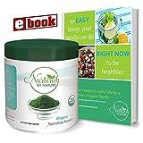 Cheap Organic Spirulina Powder – Non-GMO, USDA Certified Spirulina Organic, 8 oz Jar, 75 Servings