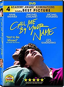 Call Me by Your Name (DVD, 2018) Drama, Romance, NEW Brusco US