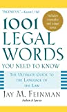 img - for 1001 Legal Words You Need to Know (1001 Words You Need to Know) book / textbook / text book