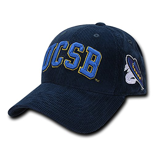 (University of California Santa Barbara UCSB Gauchos Corduroy Structured Baseball Ball Cap Hat)