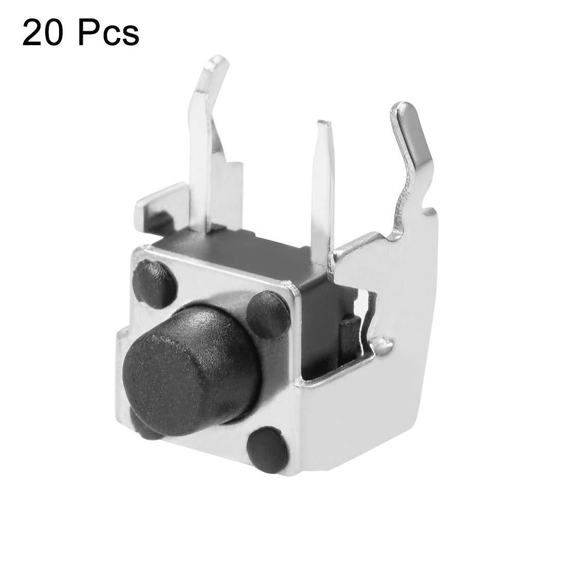 uxcell/® 6x6x4.3mm Panel Mini//Micro//Small PCB Momentary Tactile Tact Push Button Switch DIP 5PCS