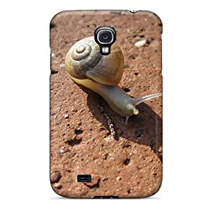 Durable Protector Case Cover With Animals Snail Hot Design For Galaxy S4