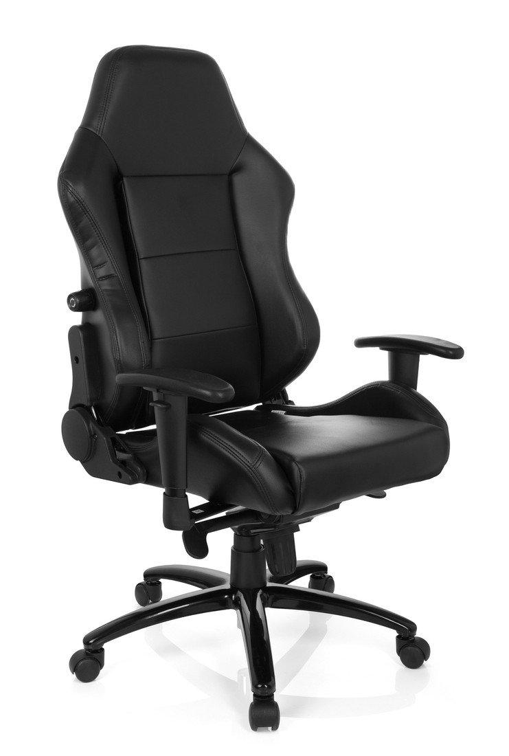 Hjh Office Indy II Silla de oficina Negro (Black) 50x48x134 cm