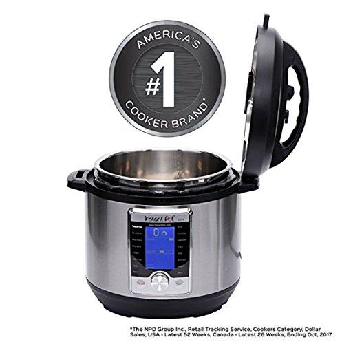 NEWEST Model Instant Pot Ultra 6 Qt 10-in-1 Multi-Use Programmable Pressure Cooker, Slow Cooker, Rice Cooker, Yogurt Maker, Cake Maker, Egg Cooker, Sauté, Steamer, Warmer, and Sterilizer by Instant Pot (Image #4)