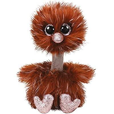 Ty Beanie Boos Orson - Ostrich Brown med: Toys & Games