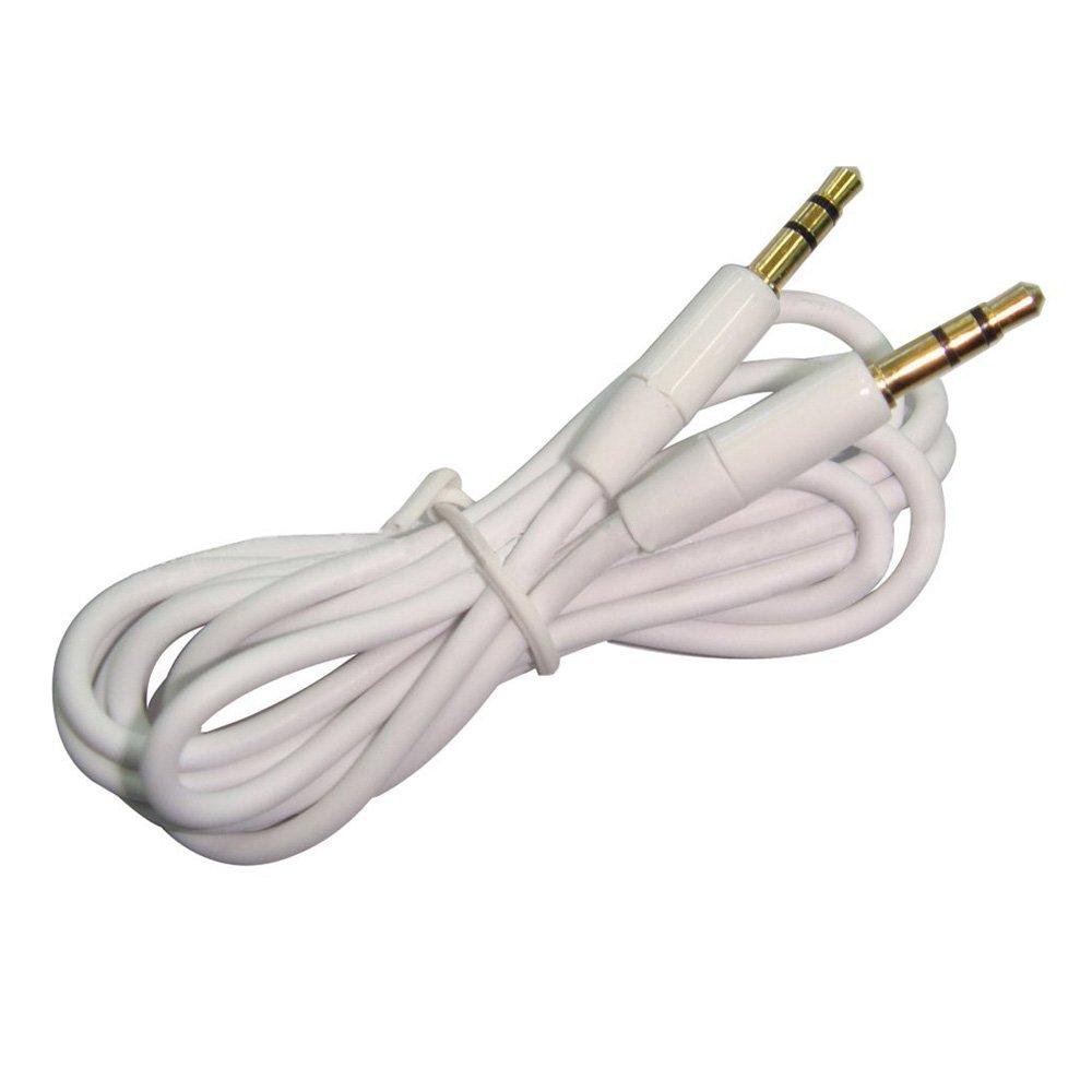 SODIAL Cavo audio da 3, 5 mm Aux Aux a maschio stereo cavo audio per PC iPod MP3 Car (rosa) 057851A4