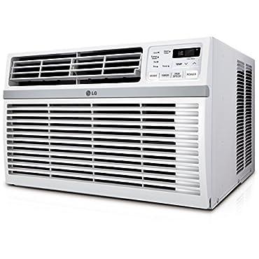 LG LW1216ER Window-Mounted AIR Conditioner with Remote Control, 12,000 BTU 115V