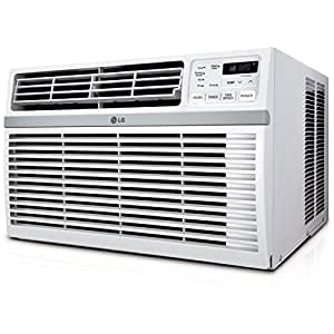 LG LW1216ER Window-Mounted AIR Conditioner with Remote Control, 12,000 BTU 115V