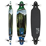 Sector 9 Lucky Shoots Complete 33 Inch Maple Bamboo Drop Through Longboard for Carving