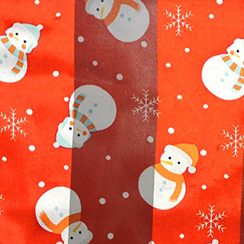 Rosemarie Collections Women's Little Snowman Holiday Fashion Scarf (Red) (Ann Taylor Silk Sweater)