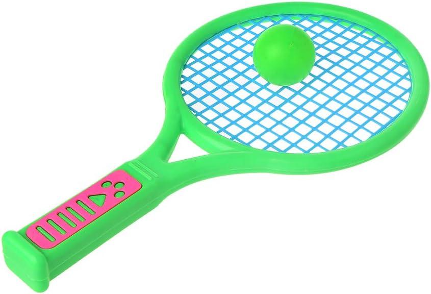 SimpleLife Raqueta de Tenis de bádminton con Juego de Pelotas para Uso en Interiores y al Aire Libre, bebés, niños, Deportes, Juegos Deportivos, Juegos de Juguetes