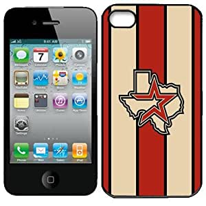MLB Houston Astros Iphone 4 and 4s Case Cover