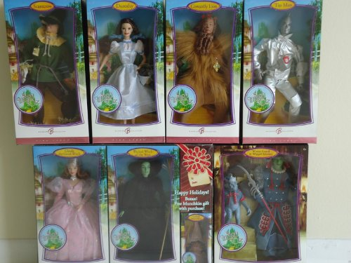 Wizard of Oz Pink Label Barbie Collection Doll Set -