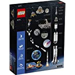 LEGO Ideas NASA Apollo Saturn V 92176 Outer Space Model Rocket for Kids and Adults, Science Building Kit (1969 Pieces)