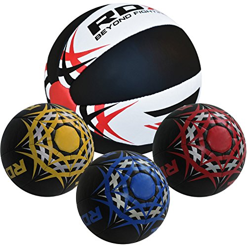 RDX Heavy Crossfit Medicine Ball Weighted Fitness Training Exercise Workout Slam 5kg, 8kg,10kg, 12kg