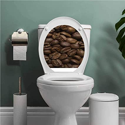 Fantastic Amazon Com Scocici1588 Coffee Toilet Seat Sticker Decal Pabps2019 Chair Design Images Pabps2019Com