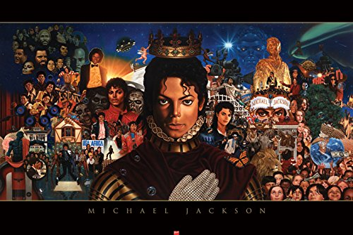 Michael Jackson Michael Album Cover Pop Rock Music Icon Legend Celebrity Poster Print 24 by 36 Michael Jackson Covers