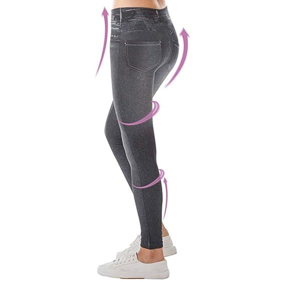 d1362659fdb NOPPOR Womens Skinny Jeans High Waist Slim Leggings Denim Stretchy Jeggings  Seamless Yoga Pants (XXL