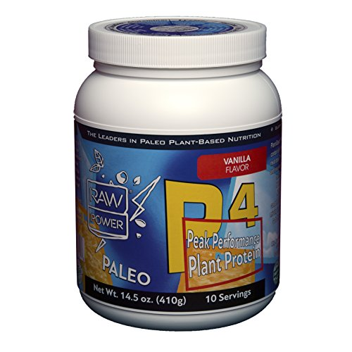 The Best Protein Powder on The Planet: More Balanced & Complete Than Meat (But Vegan) Paleo Organic Pumpkin Seed Protein + 11 Vital Nutrients Lacking In Most Diets - 10 Servings - Vanilla Flavor
