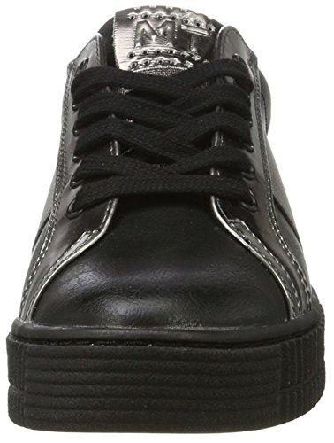 Marco Tozzi Damen 23719 Sneakers Schwarz (Black Comb 098)