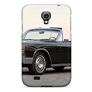[vrYFtQt5751VGsFT]premium Phone Case For Galaxy S4/ 1967 Lincoln Continental Convertible Tpu Case Cover