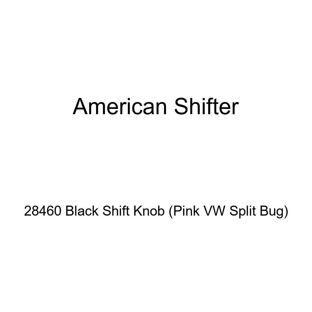 American Shifter 28460 Black Shift Knob Pink VW Split Bug
