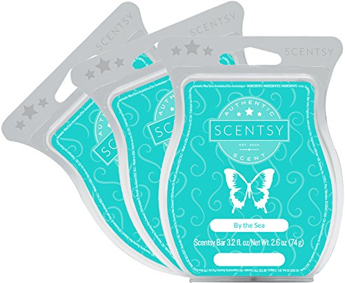 Scentsy, By the Sea, Wickless Candle Tart Warmer Wax 3.2 Oz