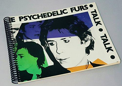 Fur Album - The Psychedelic Furs - Talk Talk Talk - The Psychedelic Furs Vinyl - Handmade Scrapbook - Scrapbook Notebook - Album Cover Art - Post Punk Gifts