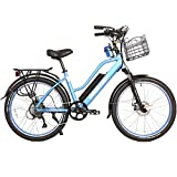 X-Treme Scooters Catalina Beach Cruiser Electric Bicycle 48 Volt Lithium - Long Range Electric Bike