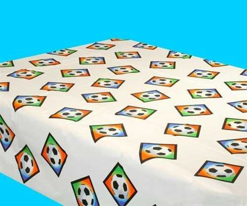 Soccer Goal Birthday Party Championship Table Cover Tableware, Plastic, 54'' x by Amscan