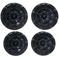 Package: Kicker 11ds65 6.5 2 Way Ds Series Pair of Coaxial Car Speakers + Kicker 11ds525 5.25 2 Way Ds Series Pair of Coaxial Car Speakers