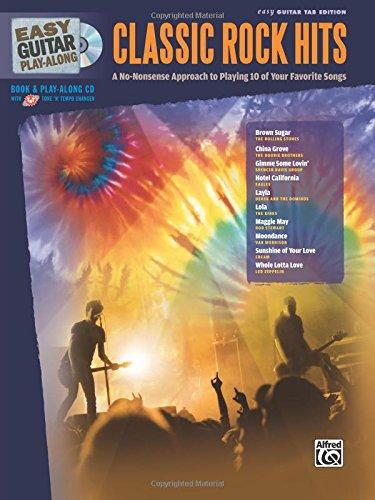Classic Rock Hits (Easy Guitar Play-Along) pdf epub