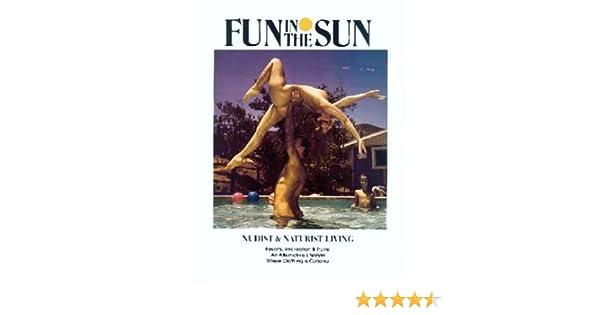 Fun in living naturist nudist sun