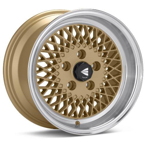 15x7 Enkei ENKEI92 (Gold w/ Machined Lip) Wheels/Rims 4x100 (465-570-4938GG)