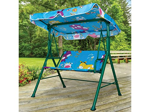 Kids Canopy Swing Bench - Pack of 1 by bulk buys