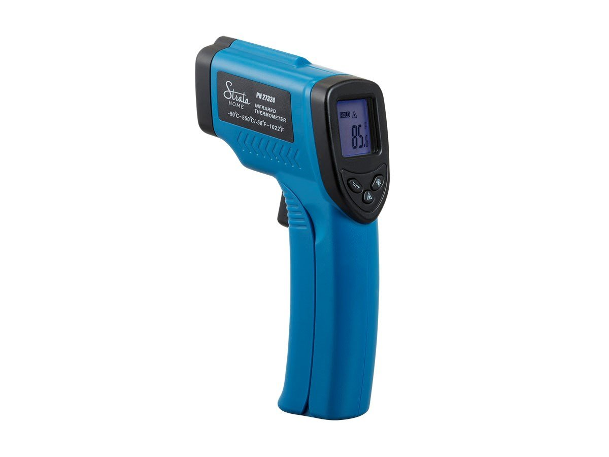 Monoprice Strata Home Digital Infrared Thermometer Celsius and Fahrenheit, perfect for cooking, home repairs, and auto maintenance.