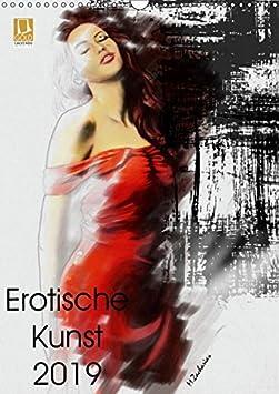 Erotische Kunst 2019 (Wandkalender 2019 DIN A3 hoch): 13 Gemälde der Künstlerin Marita Zacharias in einem sinnlichen Aktkalender (Monatskalender, 14 Seiten ) (CALVENDO Menschen) 3669805508 Bildende Kunst Dessous Erotik