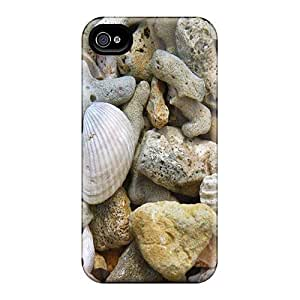 AngelaMs Design High Quality Orilla De La Playa Cover Case With Excellent Style For Iphone 4/4s