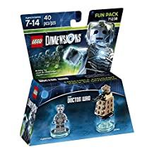 LEGO Dimensions, Doctor Who, Cyberman and Dalek Fun Pack by Warner Bros. Interactive Entertainment