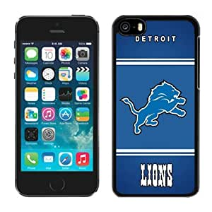 LJF phone case Personalized Gift Special Iphone 5c Case NFL Detroit Lions 20 Team Logo Newest Design Sports Cellphone Protector