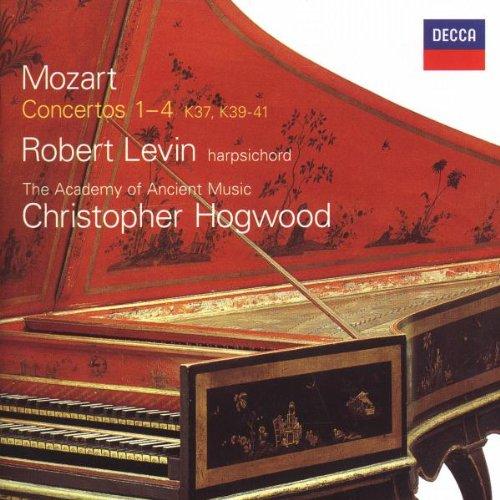 Mozart: Keyboard Concertos Nos. 1-4 - K. 37, 39, 40, 41 by Decca