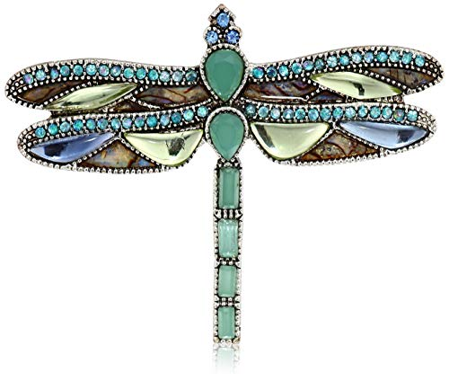 Napier Women's Multi-Colored Dragon Fly Brooches and - Brooch Napier Pin